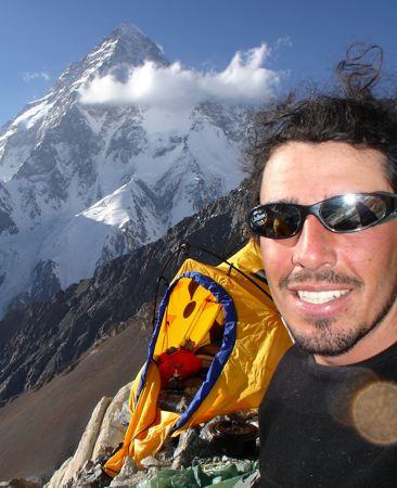 Carl Drew on K2